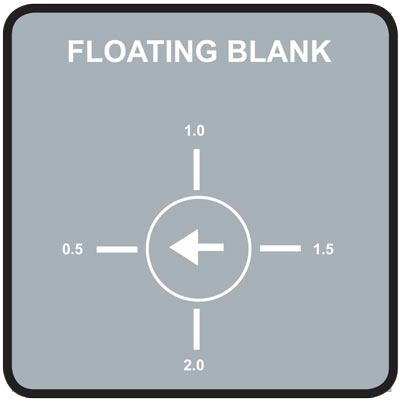 Floating Blank Safety Light Curtains