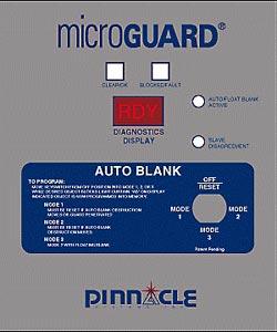 Model MG Safety Light Curtain Auto Blank